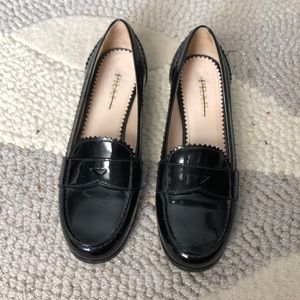 Authentic patent leather Prada loafers